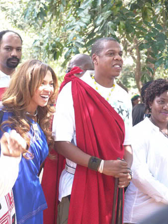 Tbt Jay Z And Beyonce In Tanzania
