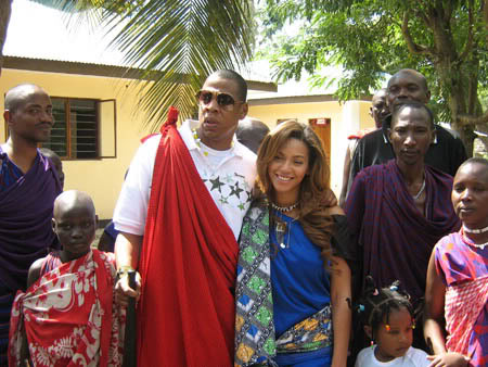 TBT: Jay Z and Beyonce in Tanzania