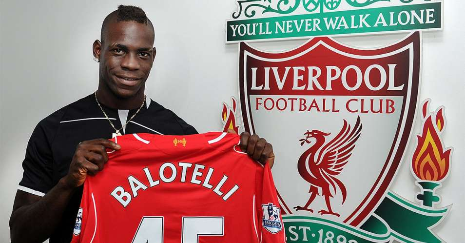Liverpool has signed Mario Balotelli to long term deal from AC Milan