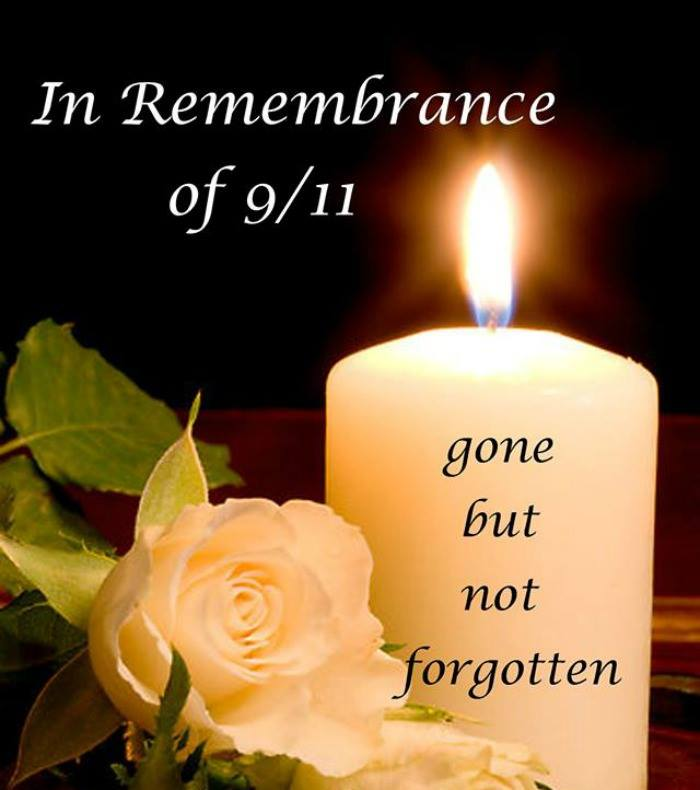 In Remembrance of 9 11… Gone but not forgotten!