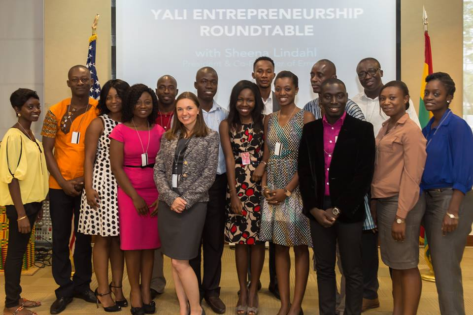 Ghana: YALI Entrepreneurship Google+ Hangout with Sheena Lindahl