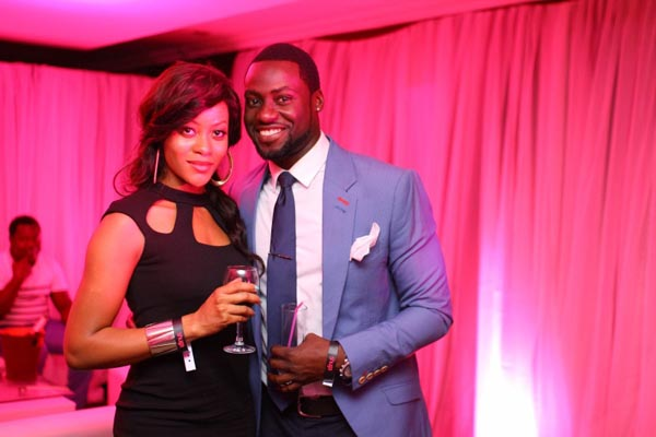 Congrats! Ex-Tinsel couple Damilola Adegbite and Chris Attoh welcome baby boy!