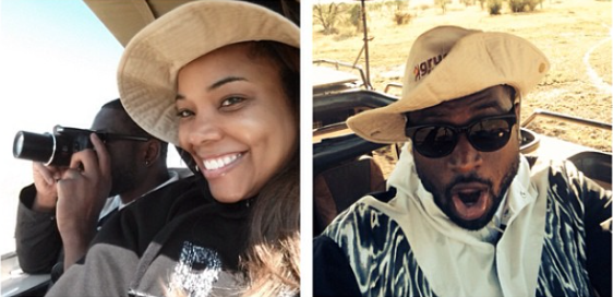 Dwyane Wade, Gabrielle Union Honeymoon in Tanzania…
