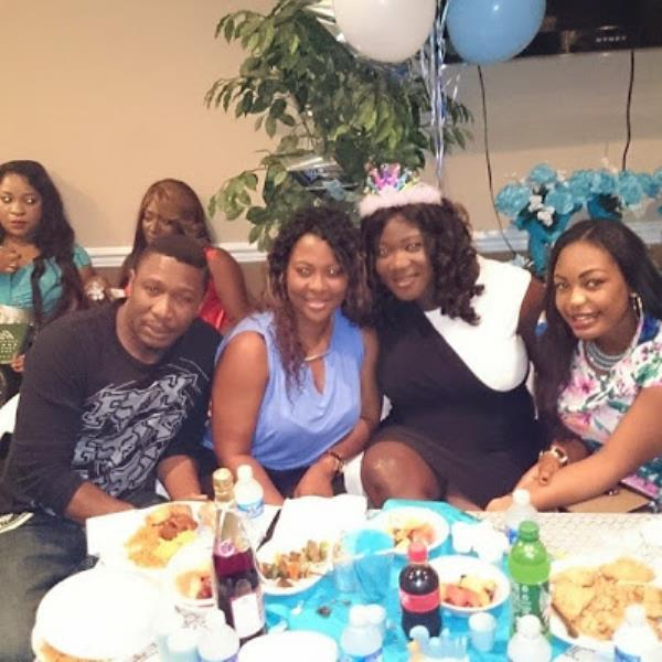 Friends Throw Mercy Johnson Surprise Baby Shower