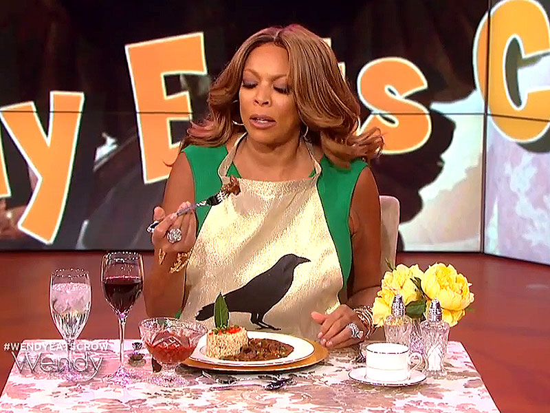 Wendy Williams Eats Actual Crow After Losing Kim and Kanye Marriage
