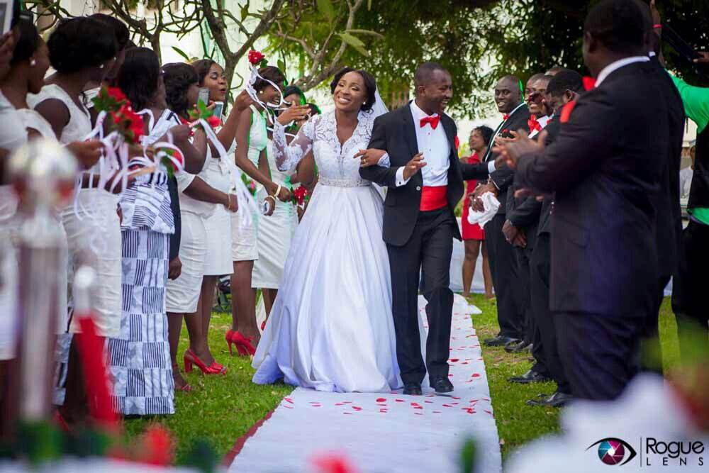 Ghanaian actress Naa Ashorkor Marries man of her dreams
