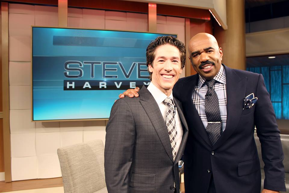 Joel Osteen on The Steve Harvey Show