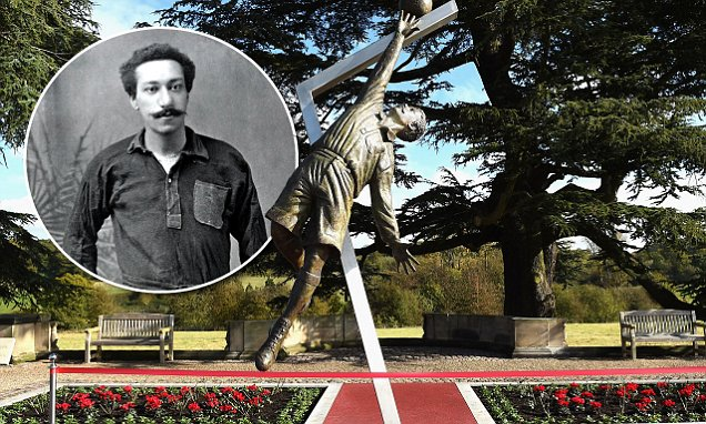 FA Unveil Statue Of Arthur Wharton the first black professional footballer