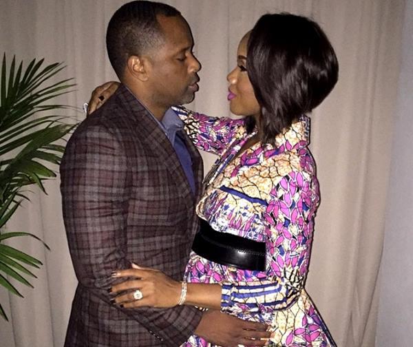 Congrats! Pastor Touré Roberts and Sarah D. Jakes