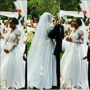 Naa-Ashorkor-White-Wedding-African celebs