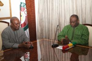 Spio and President John Mahama