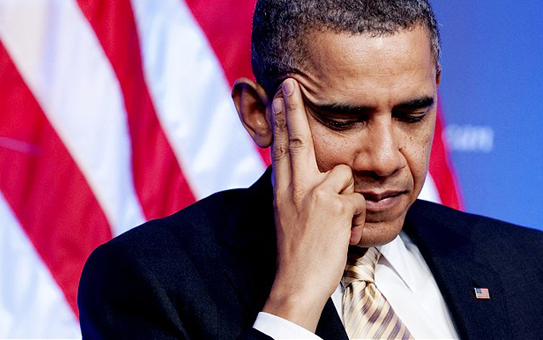 Sorry Mr President,  your credit card has been declined