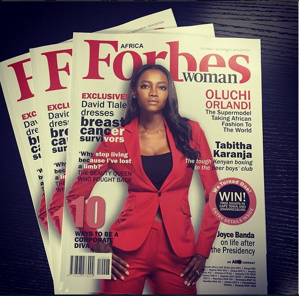 OLUCHI ORLANDI COVERS FORBES AFRICA WOMAN