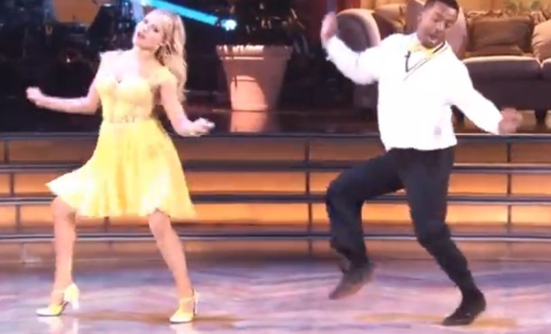 Carlton did the Carlton Dance on Dancing With the Stars