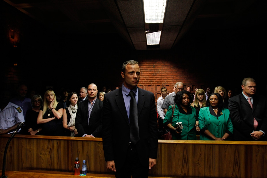 BREAKING NEWS: Oscar Pistorius gets 5 years in jail for killing his model girlfriend