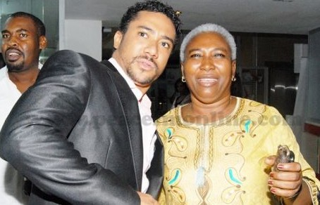 Ghanaian Actor Majid Michel loses mother