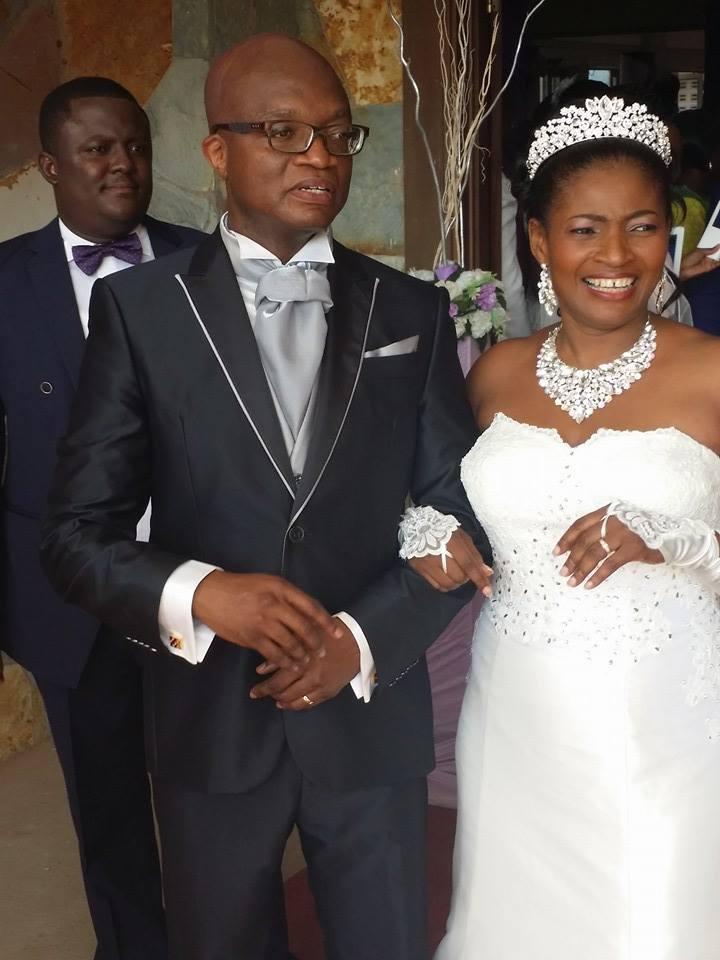 Congrats! Cox Tamakloe weds Lady Gifty Dede Tetteh