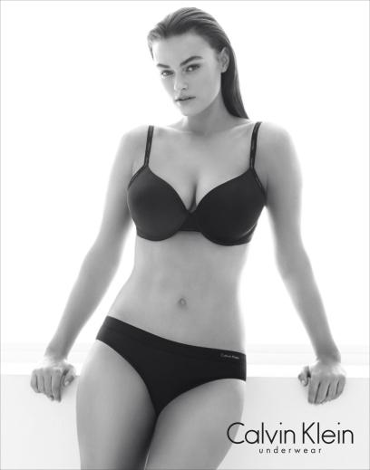 Myla Dalbesio Plus Size Model Calvin Klein Stirs Controversy