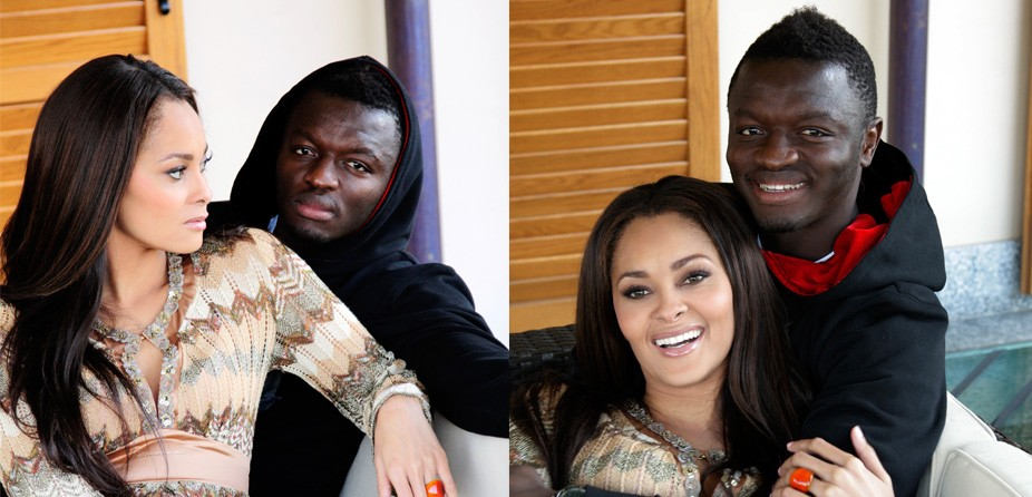 Menaye Muntari, wife of Sulley Muntari rated most beautiful of African WAGs