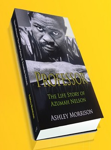 Azuma Nelson Launches  New Book – The Professor