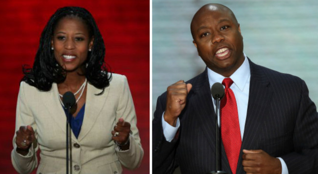 Mia Love and Tim Scott: Republicans made black history on Election Day