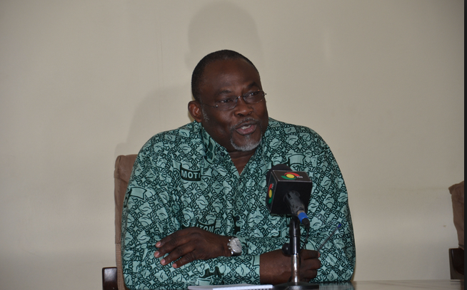 Trades Minister Dr. Ekow Spio Garbrah welcomes Ghana Advertisers Association