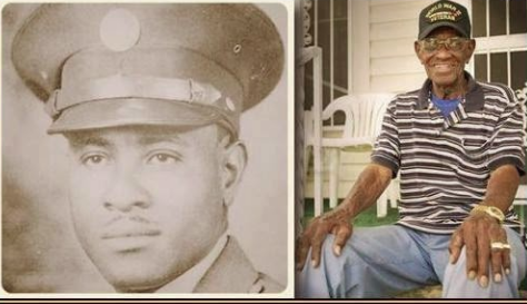 Richard Overton: Oldest living US veteran aged 108
