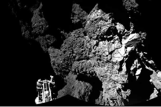 Incredible photos: Rosetta Comet Landing