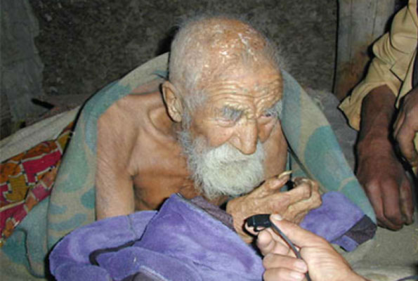 Worlds oldest man..Death has forgotten me...I have lost hope of dyingjpg
