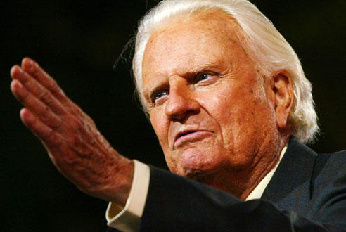Man Of God:  RIP Billy Graham
