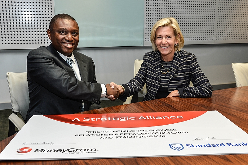 Moneygram increases assets with standard bank