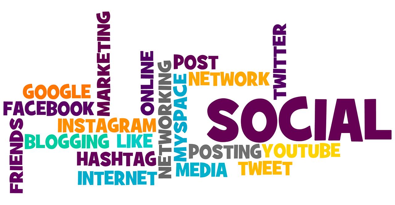 social media word-cloud