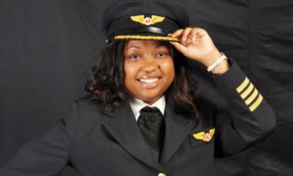 Africa's first black female Boeing 787 Dreamliner certified Captain, Irene Koki Mutungi, of Kenya