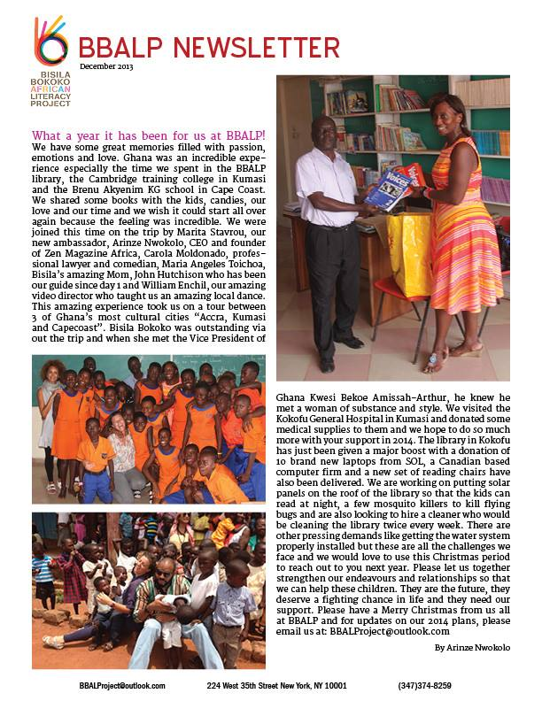 BBALP Newsletter.