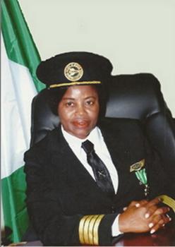 Captain Chinyere kalu Nigeria's First Female Pilot