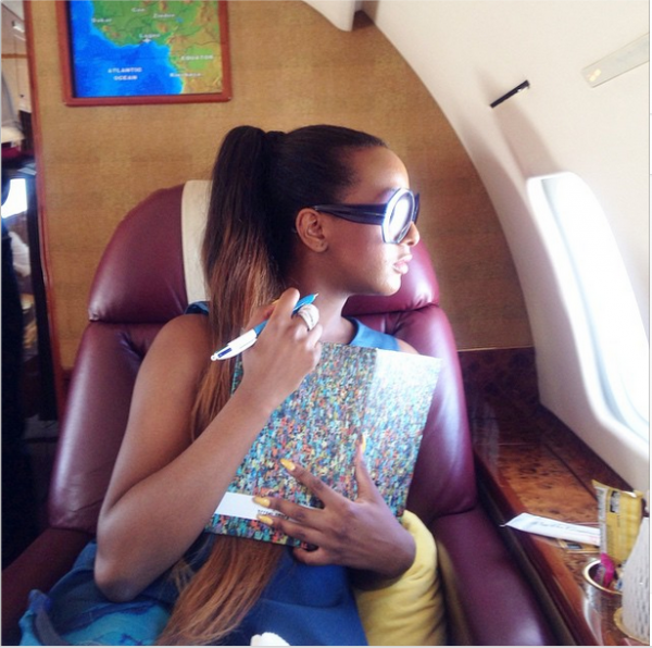 DJ Cuppy Is In Ghana for a Gig