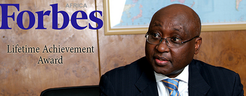 Donald Kaberuka receives Lifetime Achievement Award from Forbes Africa