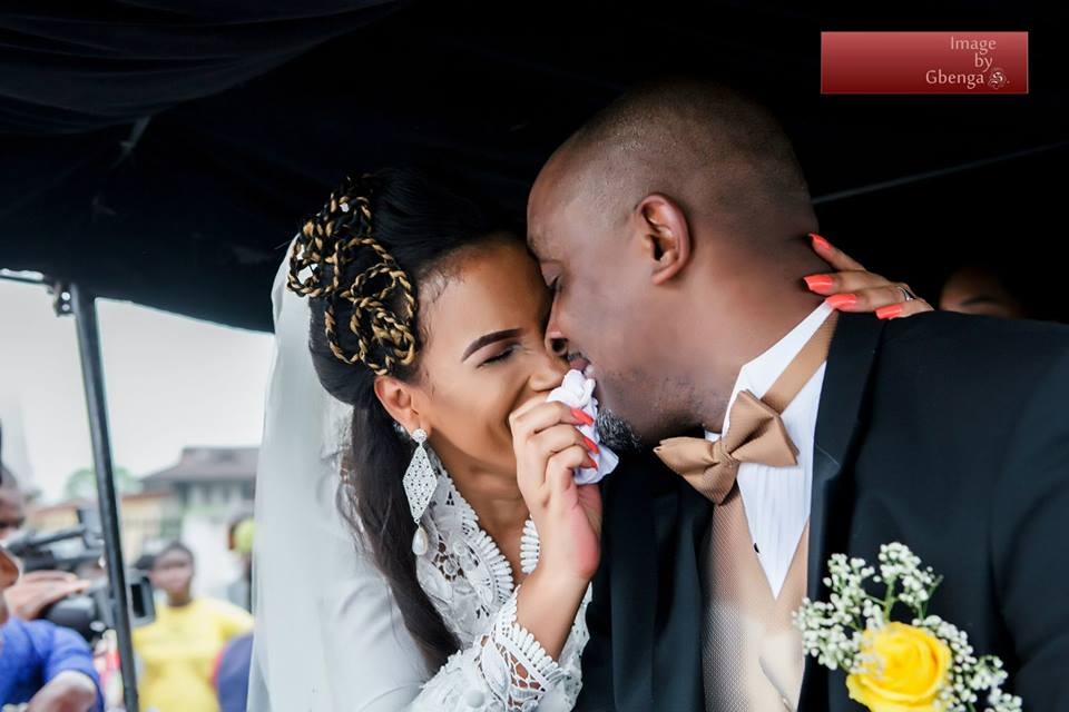 Wedding Photos:  Nollywood actress Ibinabo Fiberesima