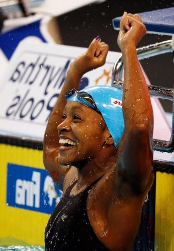Alia Atkinson Becomes 1st Black Woman Swimmer To Win World Title