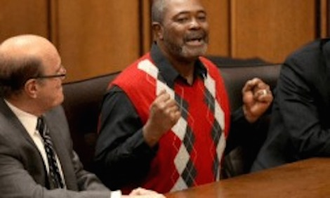 Kwame Ajamu 57 exonerated of murder after 27 years of imprisonment