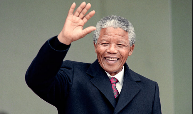 On this date in 1990, Nelson Mandela was released from prison