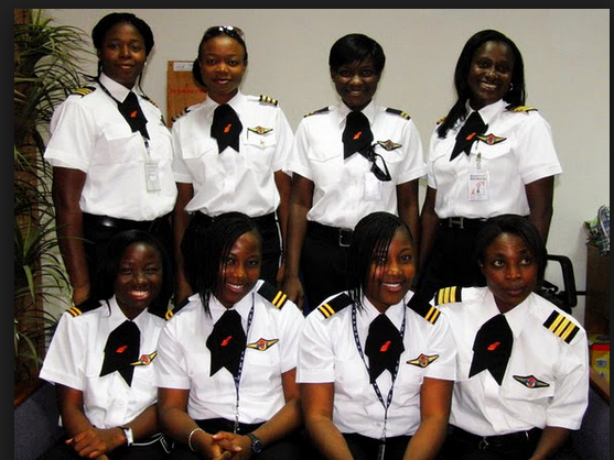 Nigeria all female crew
