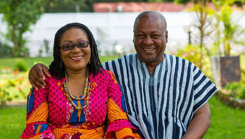 Happy Christmas from President John Dramani Mahama and family