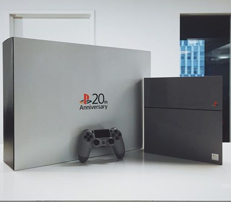 The Verge 20th Anniversary PlayStation 4 Giveaway Sweepstakes