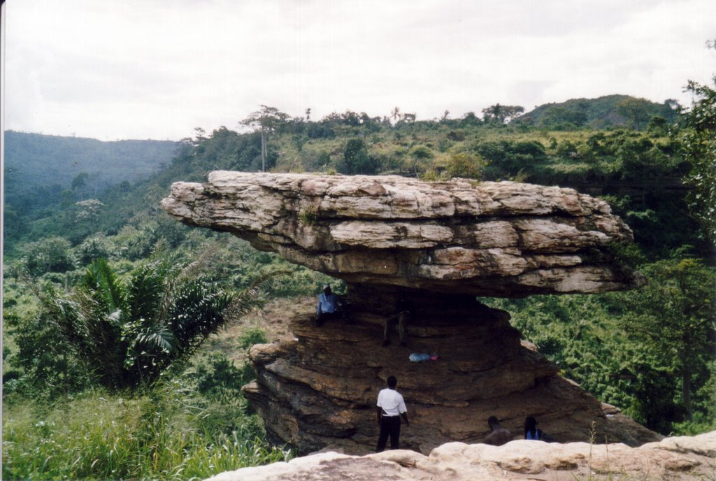 boti falls ghana