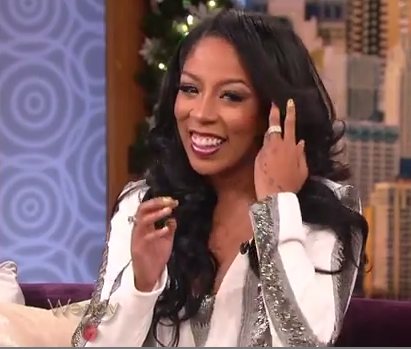 K.Michelle confirms 8 month relationship with Idris Elba
