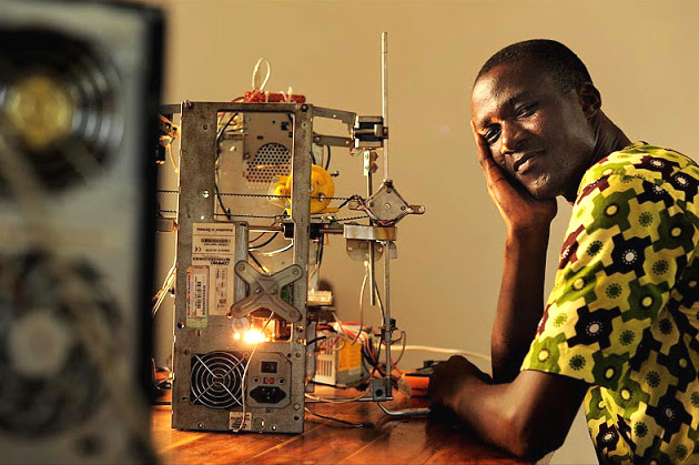 Tech Sportlight: Inventor makes 3D printer from E-Waste
