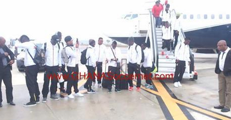 Black Stars squad arrives in Seville to begin pre Nations Cup training