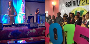 GENEVIEVE NNAJI JOINS ACTION 2015 CAMPAIGN- AFRICAN CELEBS 2015