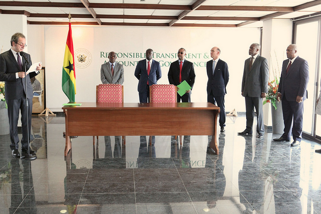 Ghana Government  Signs $7bn Deal With Italian Oil Giant ENI .